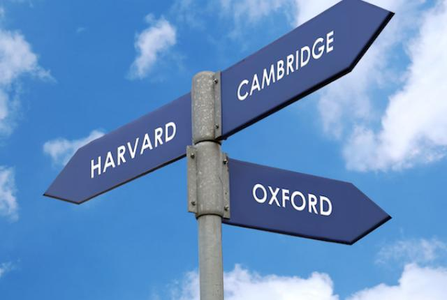 Oxbridge admission or US College admission?